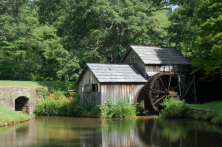 Mabry Mill Rest - Blue Ridge Pkwy- C